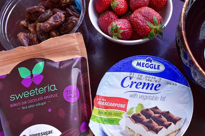 Ingrediente pentru desert dulce fara zahar de la sweeteria