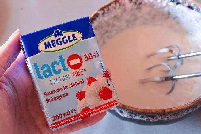 Cutie de frisca fara lactoza lactose free