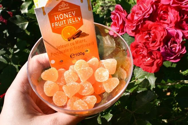 jeleuri cu miere portocale si scortisoare