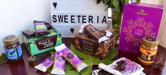 Desert Sweeteria fara zahar sanatos cu ciocolata frisca si vanilie batoane