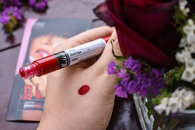 colectia melkior blood valentine day rosu ruj intens rezistent