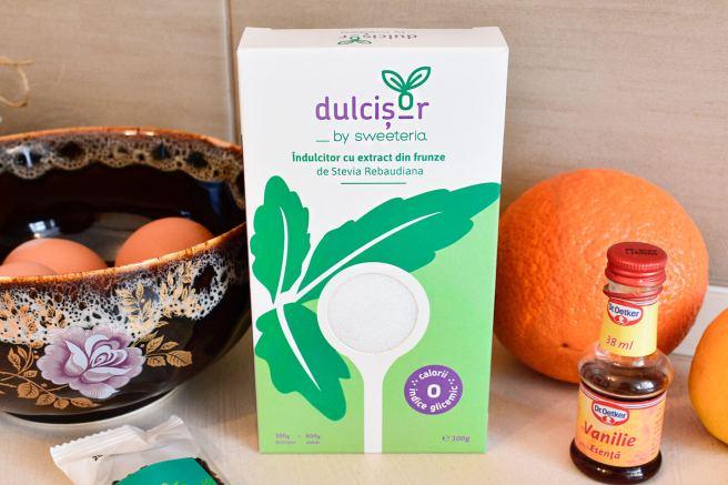 stevia fara zahar dulcisor pudra reteta desert