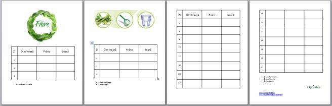 Monitorizeaza progres cu Nestle Opti Fibre tabel descarca gratuit