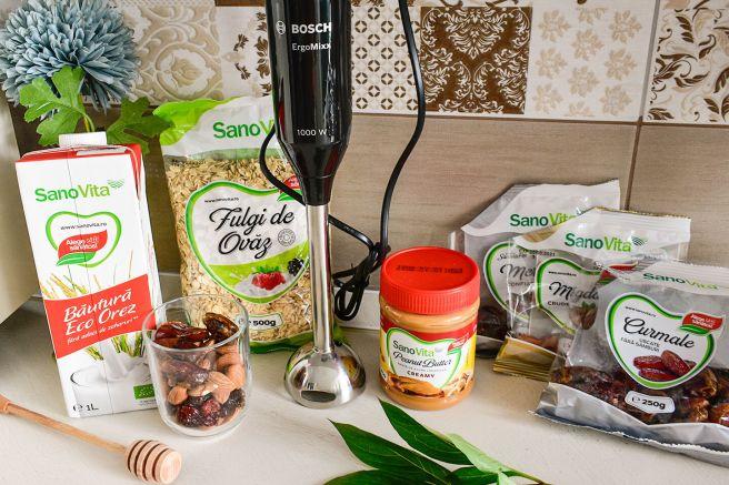 igrediente mini prajituri proteice sano vita bosch