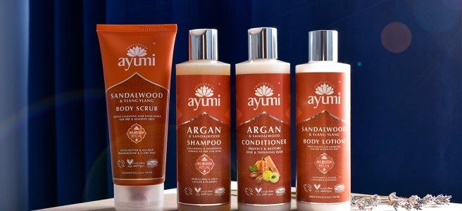 ayumi naturals cruelty free vegan friendly biocart sampon balsam scrub lotiune cosmetice