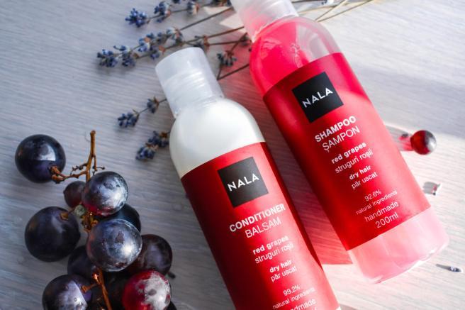 sampon si balsam cu struguri rosii ingrediente naturale cosmetice bio