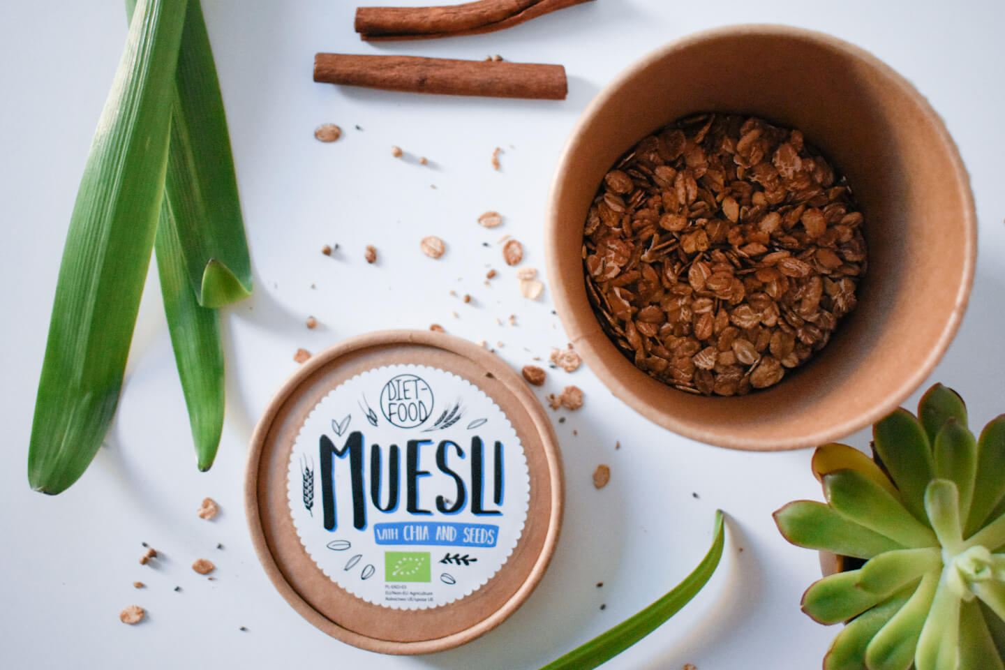 musli bio cu chia via naturalia diet food
